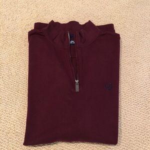Men's Chaps 1/4 Zip Pullover 2XLT